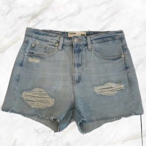 SALE! 🔥 Garage   Ripped High-Waisted Mom Jeans